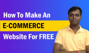 How to make an eCommerce website from scratch