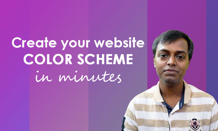 create your websites color scheme