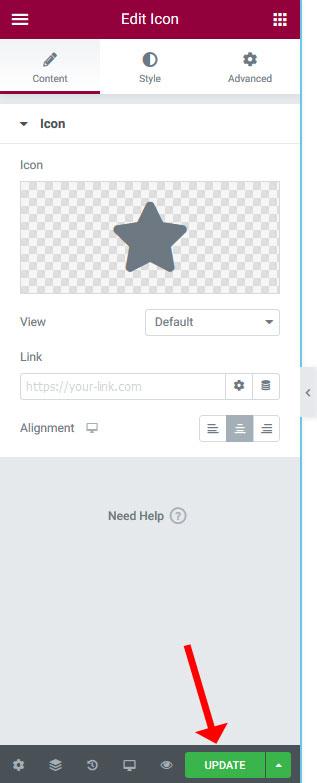 elementor-update-button