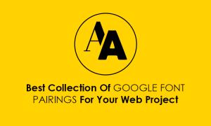 google font pairings