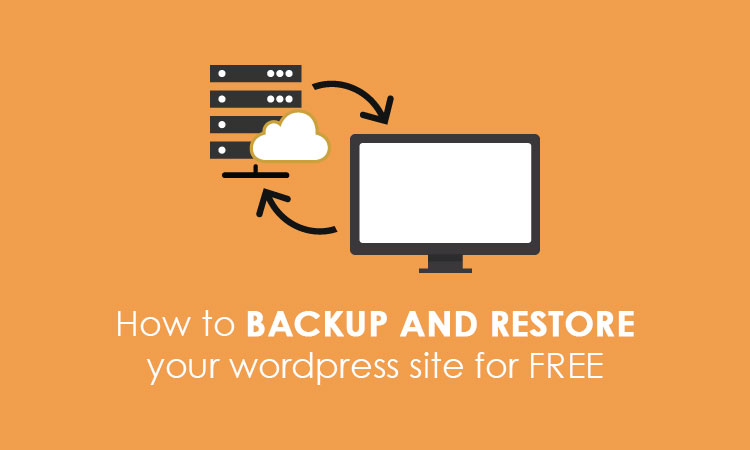 backup and restore your wordpress site