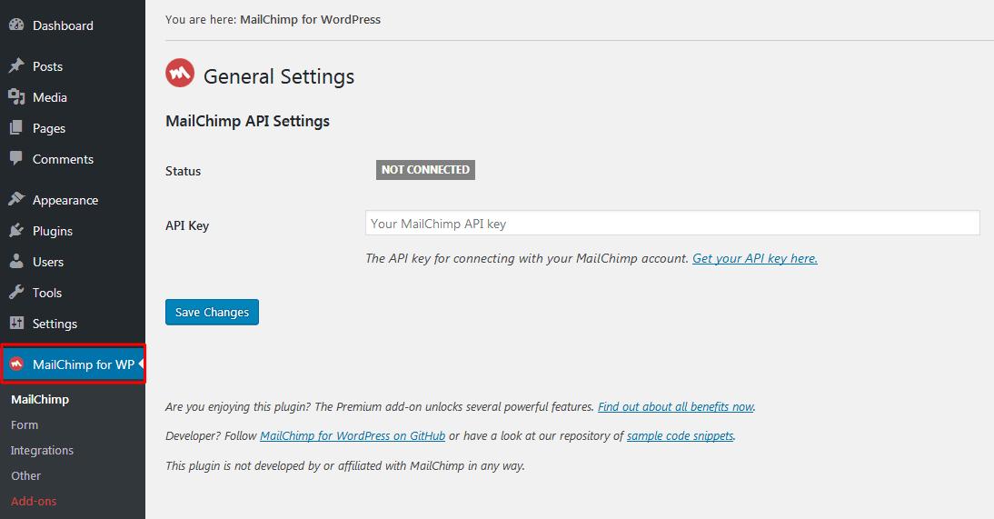 mailchimp-wp-settings