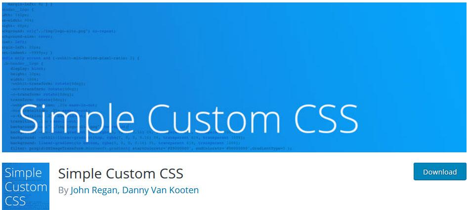 simple-custom-css-plugin