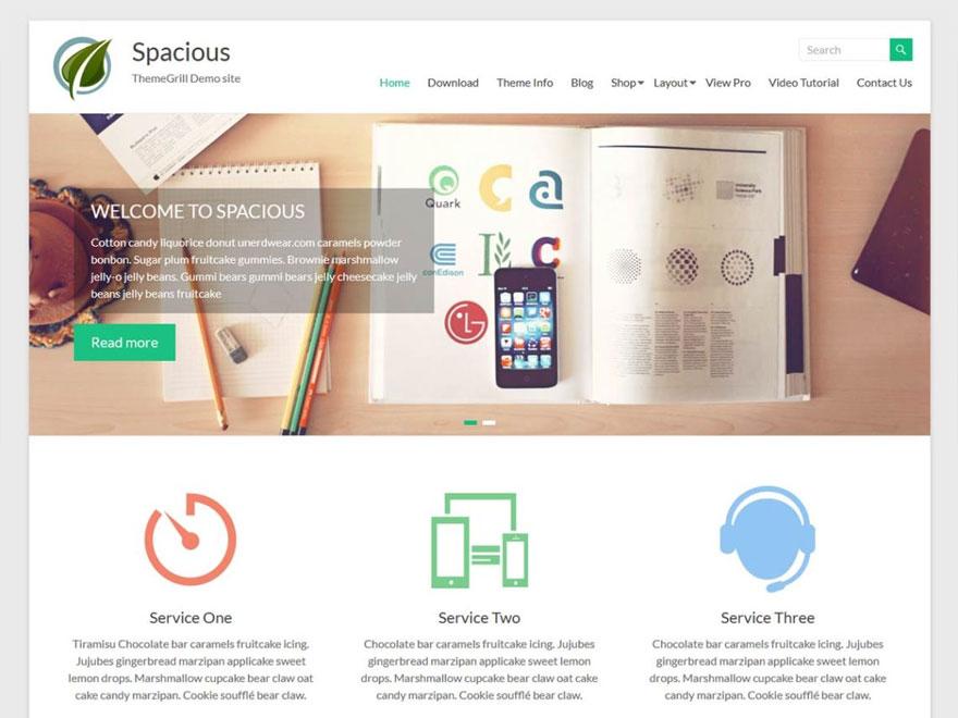 spacious-theme