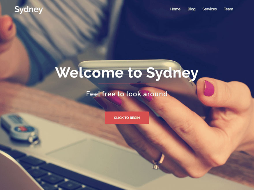 20 Best free responsive WordPress themes for you - DesignTheWay